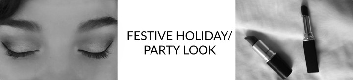 Festive Holiday/Party Look