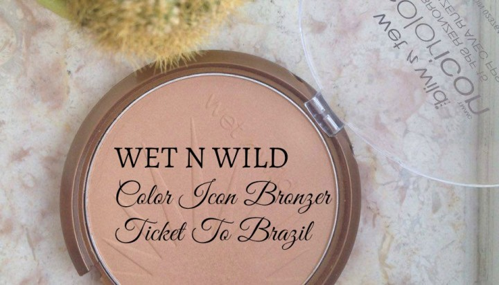 Wet N Wild Iconic Bronzer: Ticket To Brazil