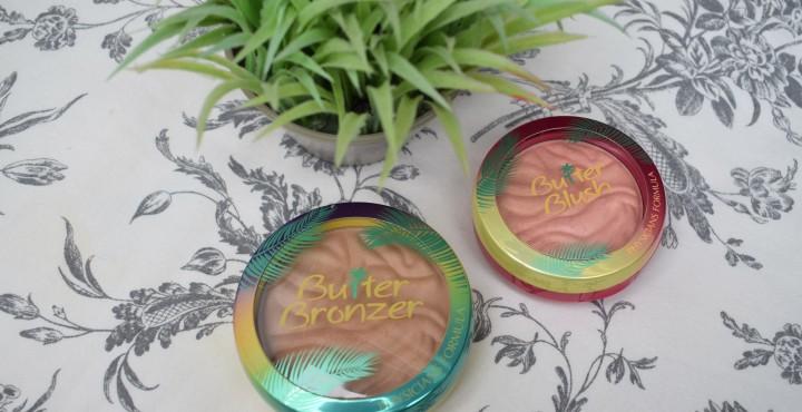 Physicians Formula Murumuru Butter Bronzer (Light) and Butter Blush in NaturalGlow