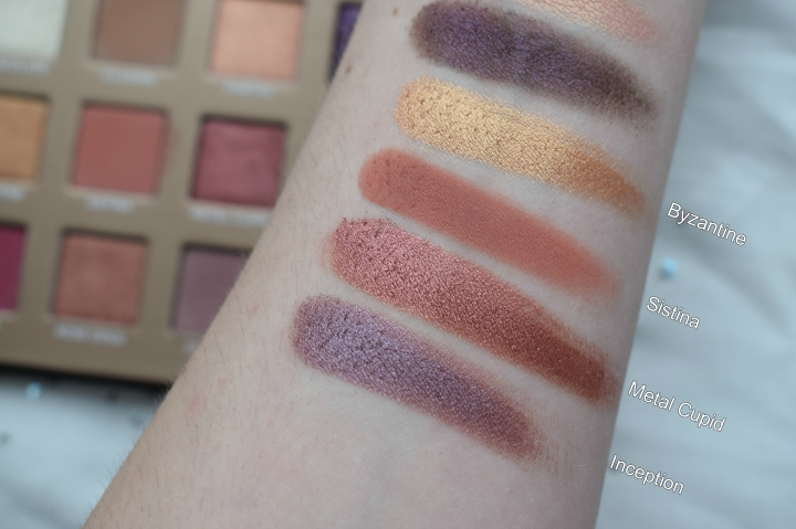Nabla-dreamy-eyeshadow-palette-second-row-swatches
