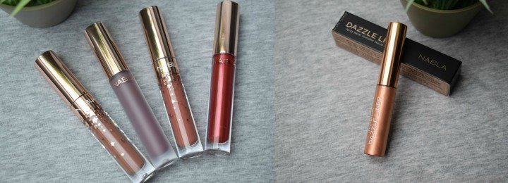 Nabla Cosmetics Holiday Collection: Dreamy Liquid Lipsticks and Dazzle Liner