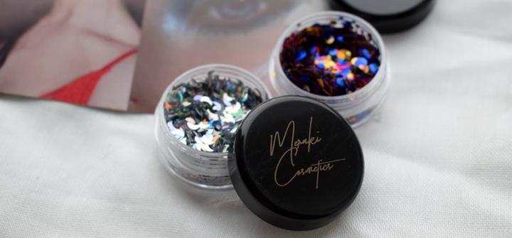 Meraki Cosmetics Chunky Glitter: Nebula andEclipse