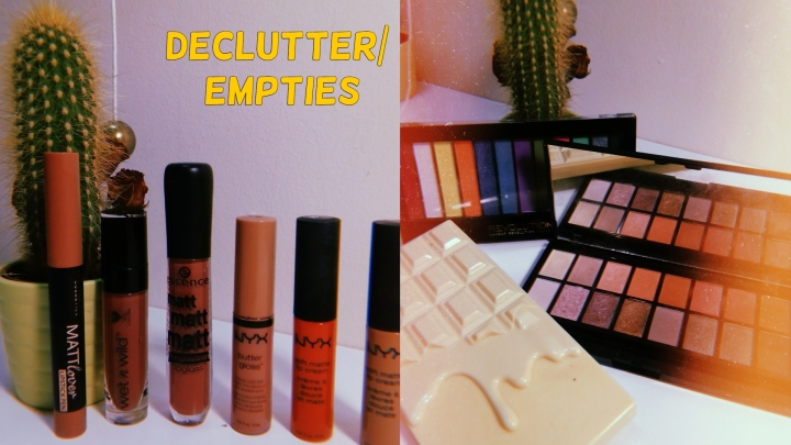 Recent Empties & Declutter