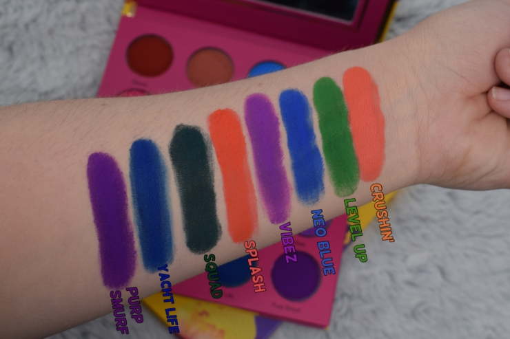 coloured raine vivid pigments (16)