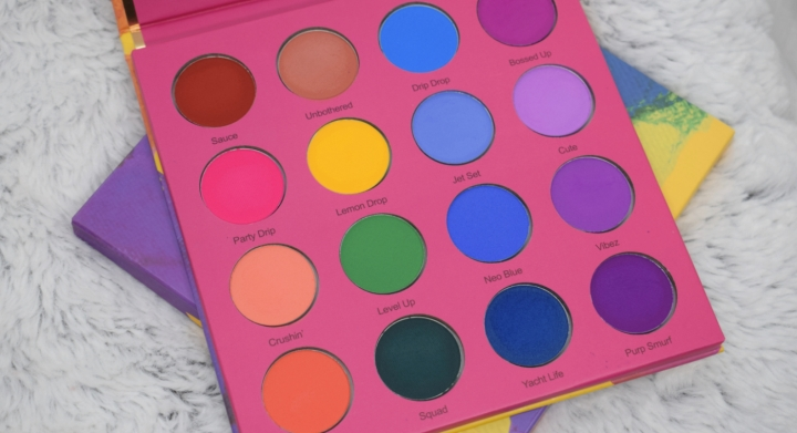 Coloured Raine Vivid Pigments Palette
