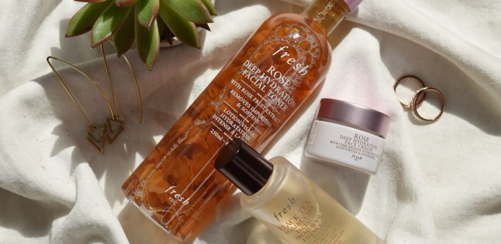 Trying Out fresh Skincare | Rose & BlackTea