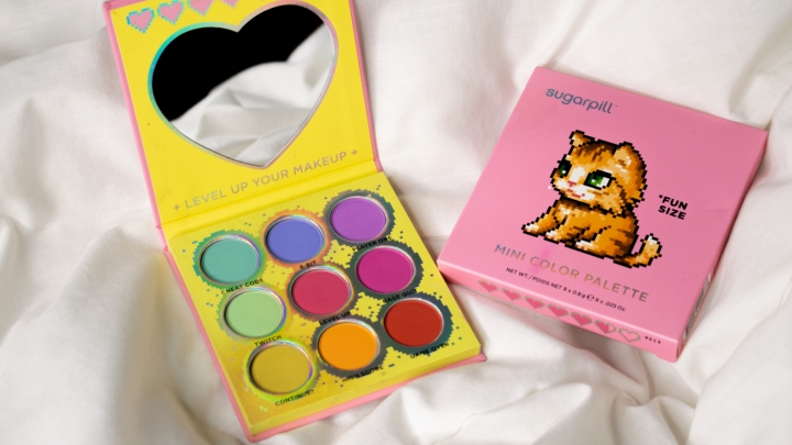 Sugarpill Fun Size Mini Color Palette Review & Swatches