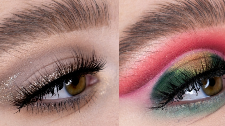 Christmas/NYE Makeup Looks: Editorial or Glam