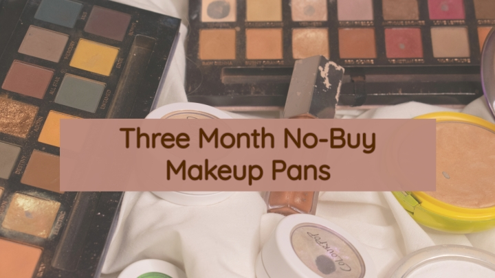 Three Month No-Buy: Makeup Pans!