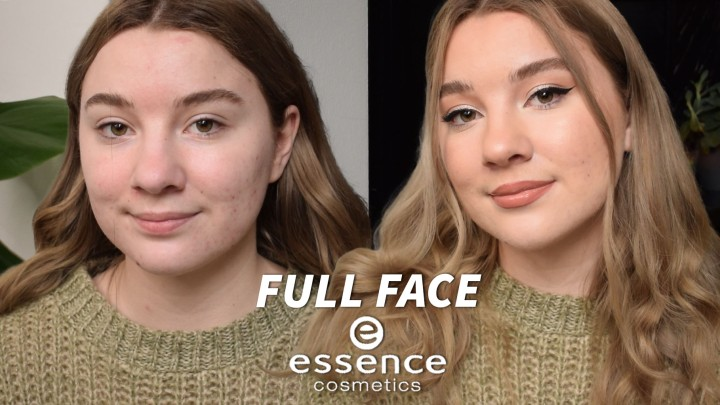 FULL FACE OF ESSENCE MAKEUP Under$65!