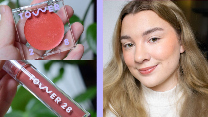 TOWER 28 TRY-ON | Blush & Milky LipJelly