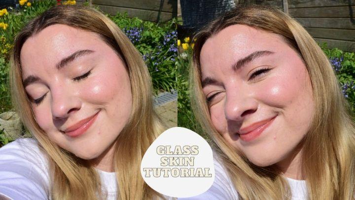 Glass Skin Makeup Tutorial I DrySkin