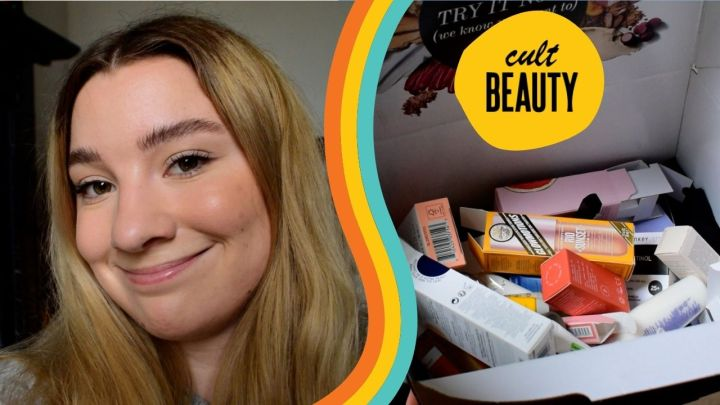 CULT BEAUTY MAKEUP HAUL I Vlog style & free goodiebag!